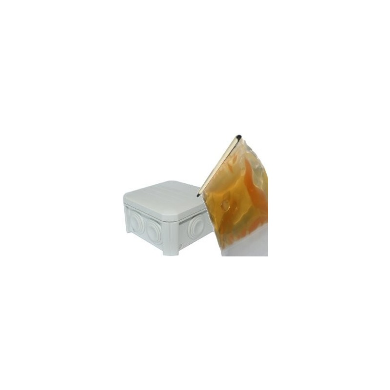 Boite jonction gel avec r sine gel couler 90x90 - Gel isolant electrique ...