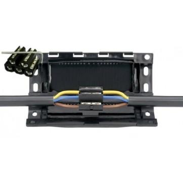 Manchon de jonction avec bloc connecteurs 5 pôles 3-5 x 6-16 R