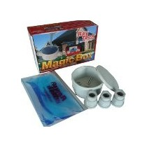 Boite jonction ronde diamètre 65 mm + presse-étoupes + magic gel