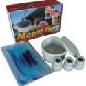 Boite jonction ronde diamètre 80mm-3 presse-étoupes-magic gel