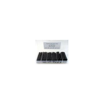 Boite assortiments noir 170 pièces 17 M