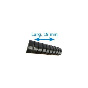 Ruban isolant adhésif Noir larg 19 mm long 10 m. 10 rouleaux