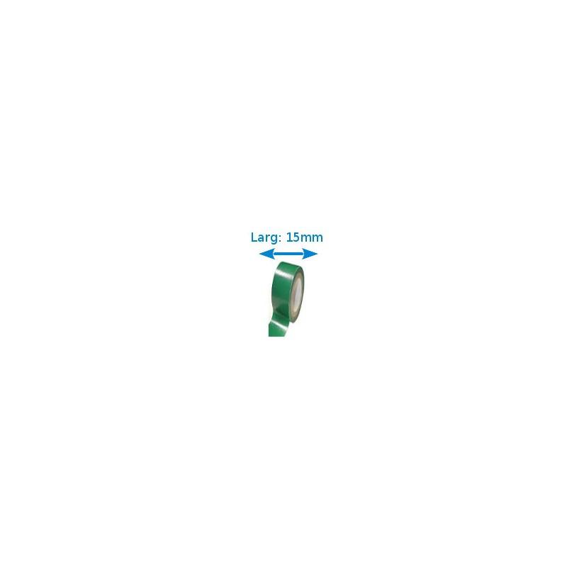 Ruban isolant adh sif vert larg 15 mm long 10 m - Gel isolant electrique ...