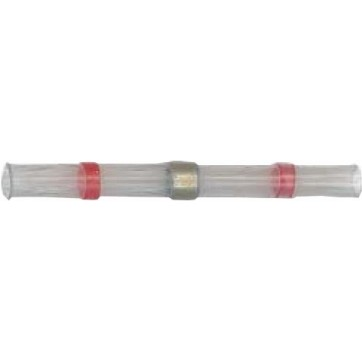 25 connecteurs auto soudeur 0.8 - 2 mm rouge