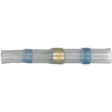 25 connecteurs auto soudeur 2 - 4 mm bleu